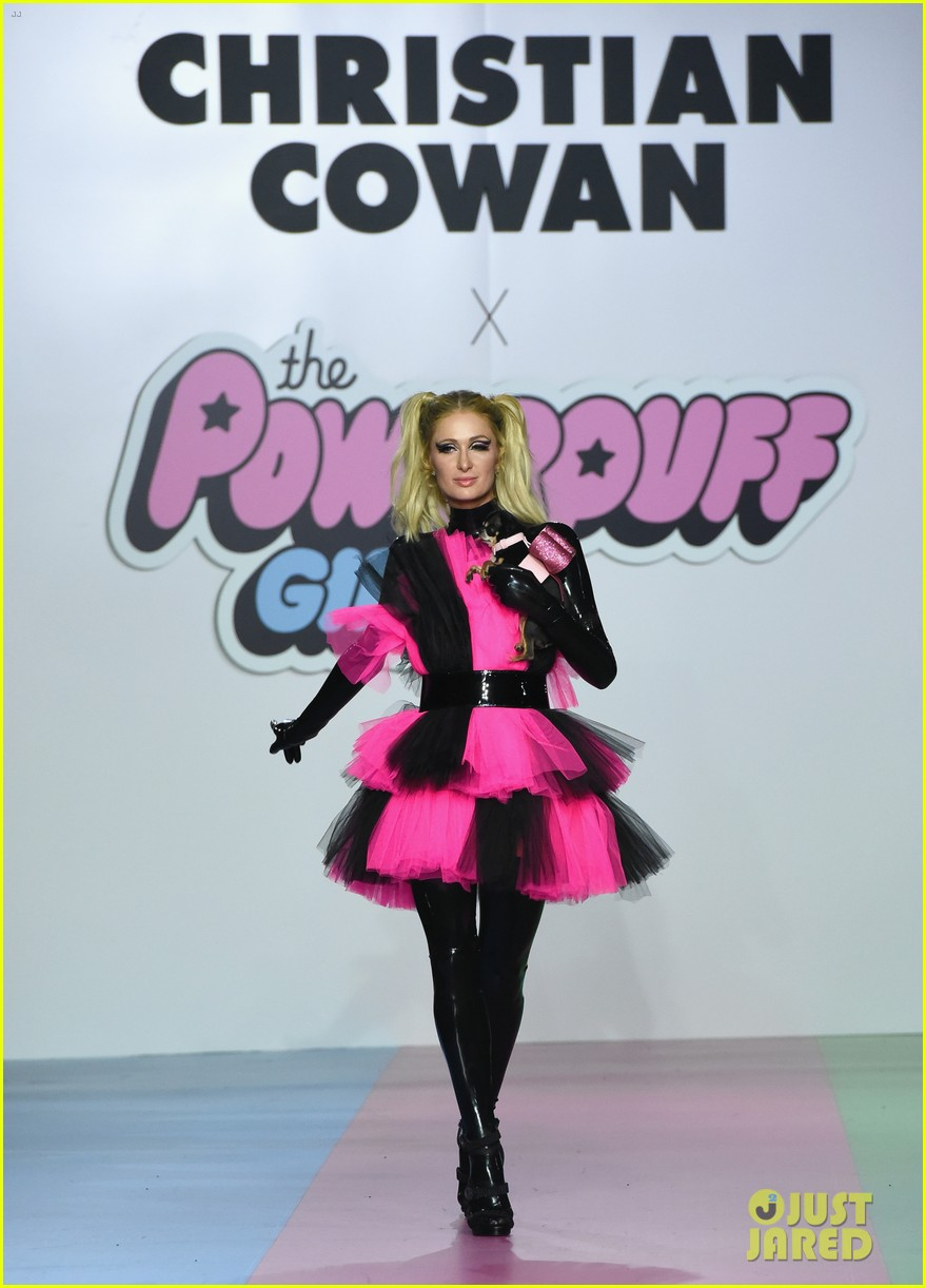 paris hilton heidi klum powerpuff girls show 06