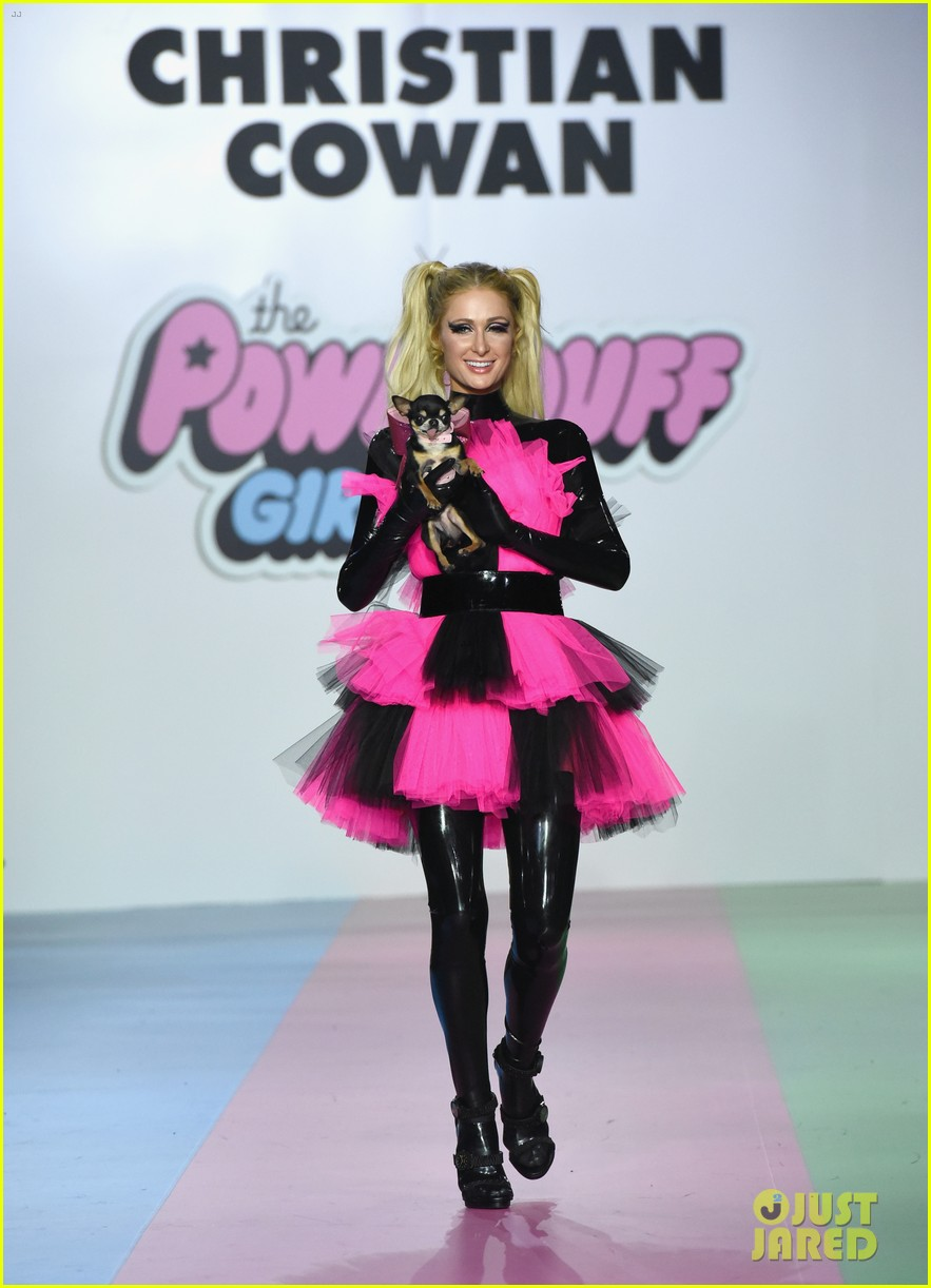 paris hilton heidi klum powerpuff girls show 08