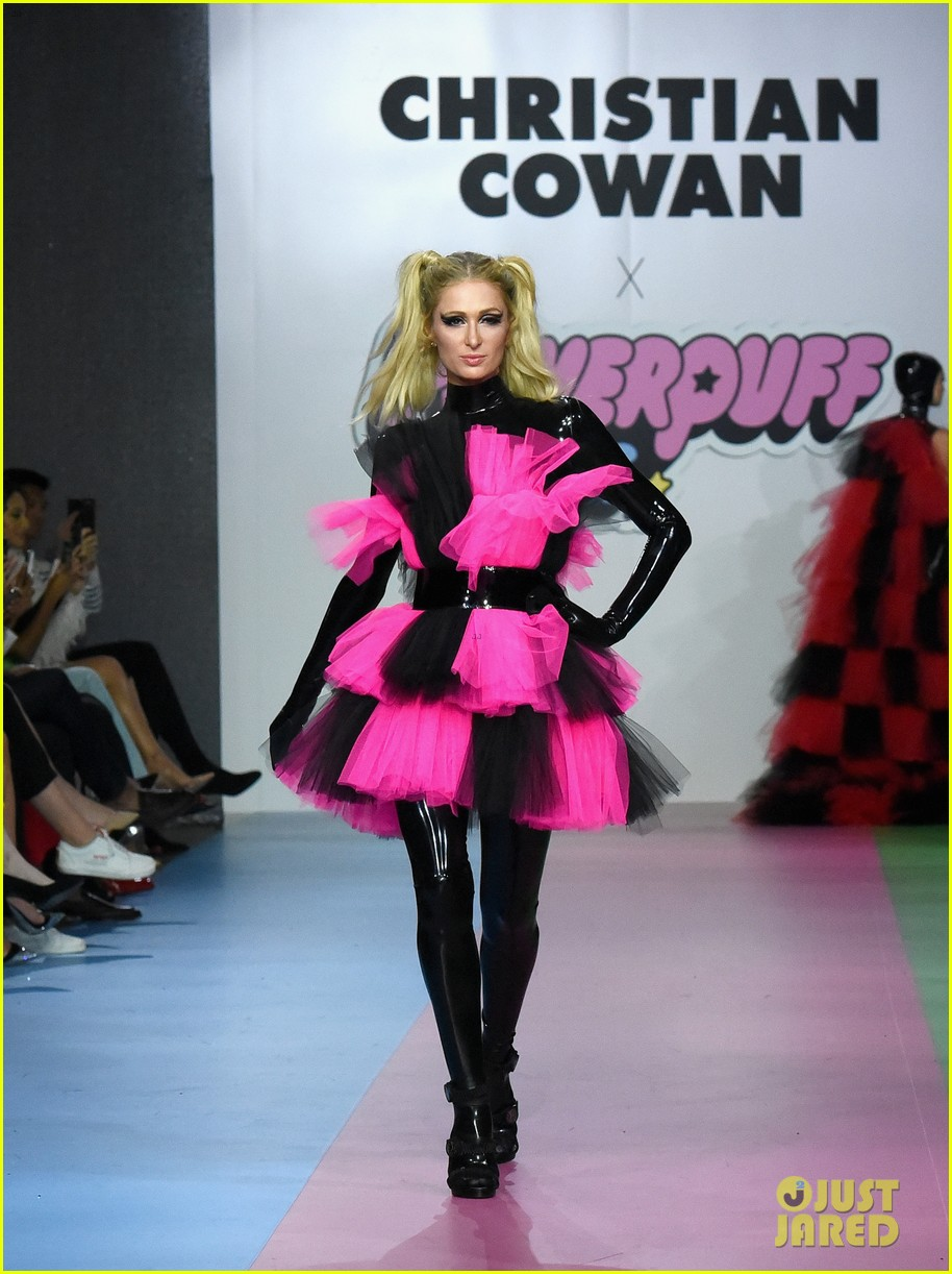 paris hilton heidi klum powerpuff girls show 09