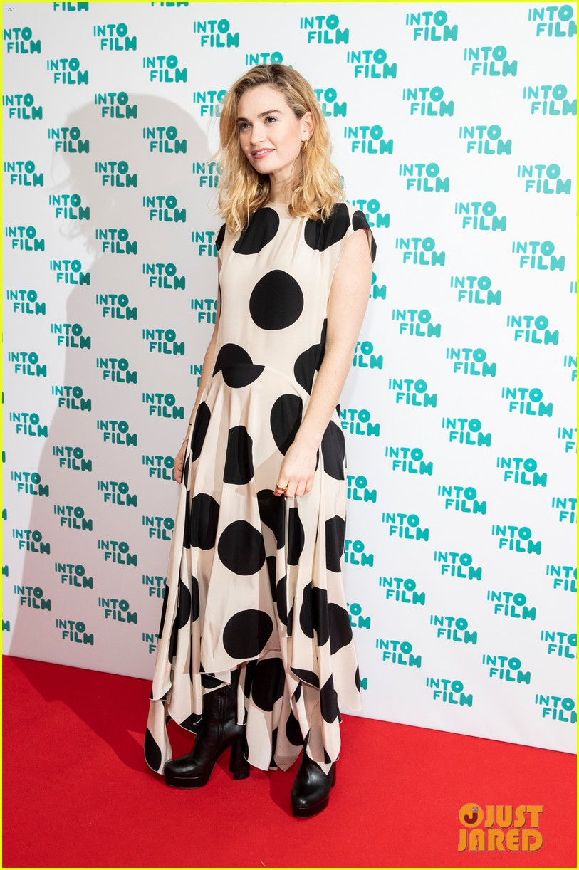 eddie redmayne lily james celebrate young filmmaking talent at into film 07