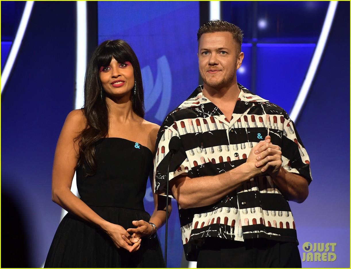 dan reynolds wife aja volkman couple up for glaad media awards 044264517