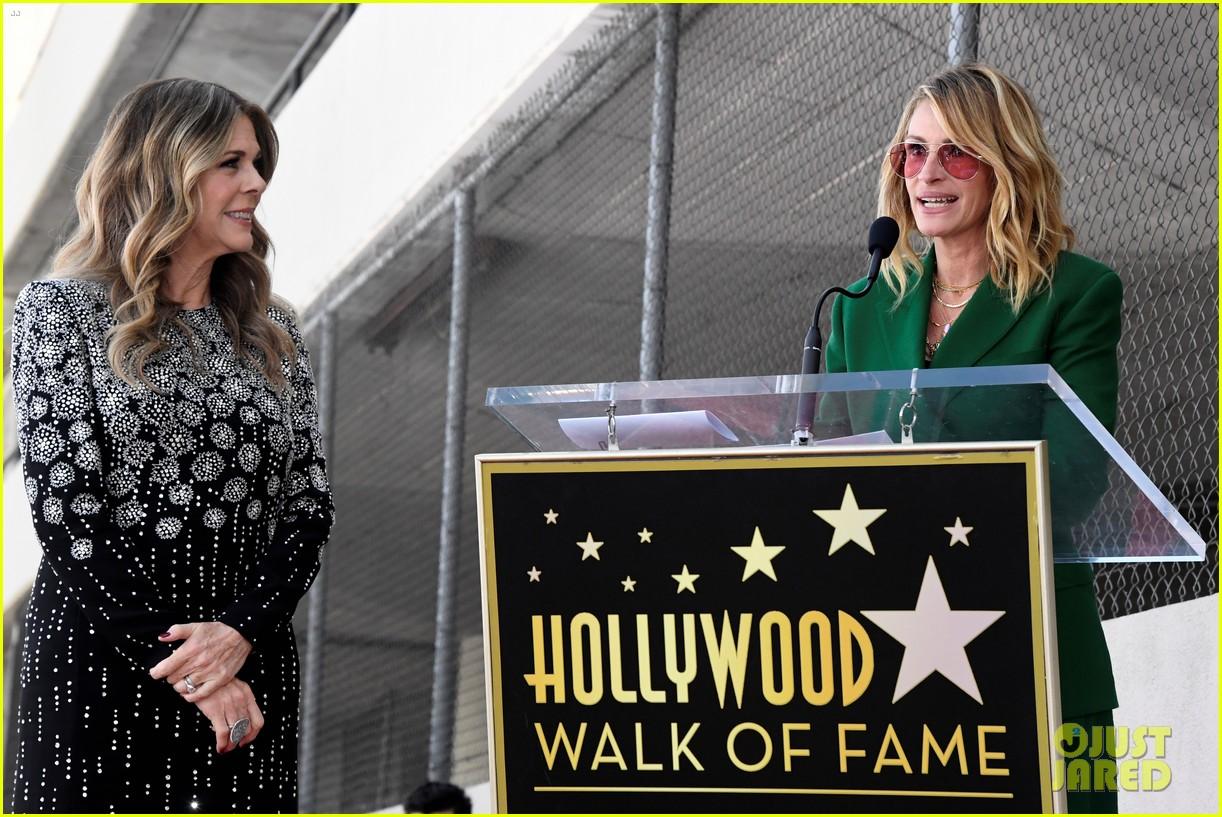rita wilson hollywood walk of fame ceremony 06
