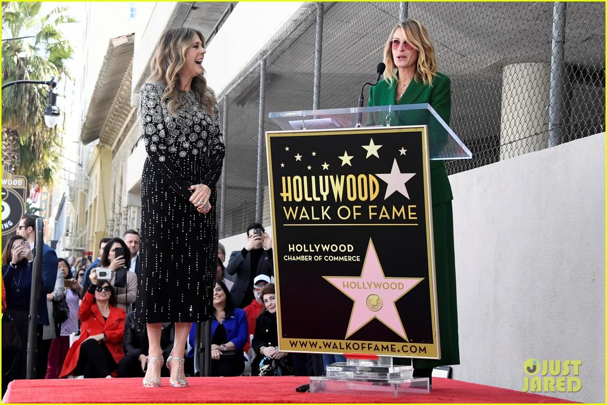 rita wilson hollywood walk of fame ceremony 07