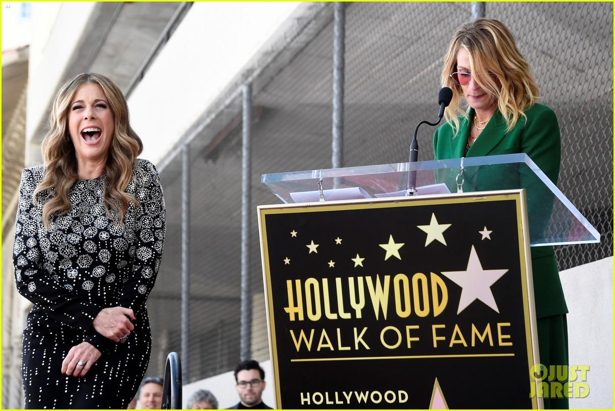 rita wilson hollywood walk of fame ceremony 08