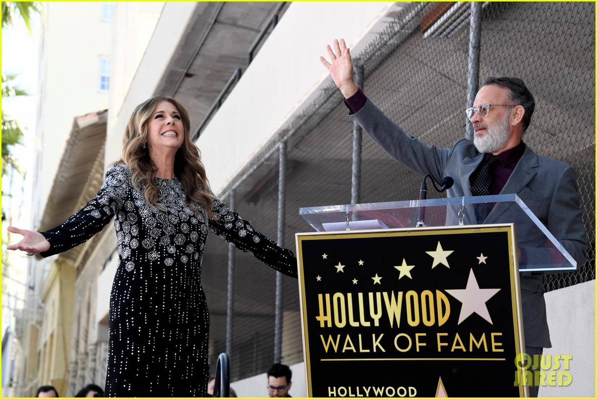 rita wilson hollywood walk of fame ceremony 11