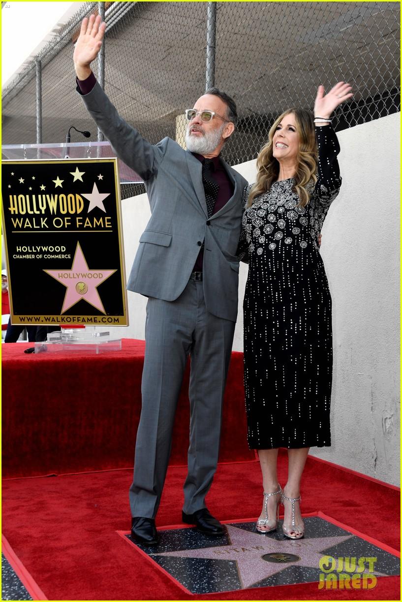 rita wilson hollywood walk of fame ceremony 13