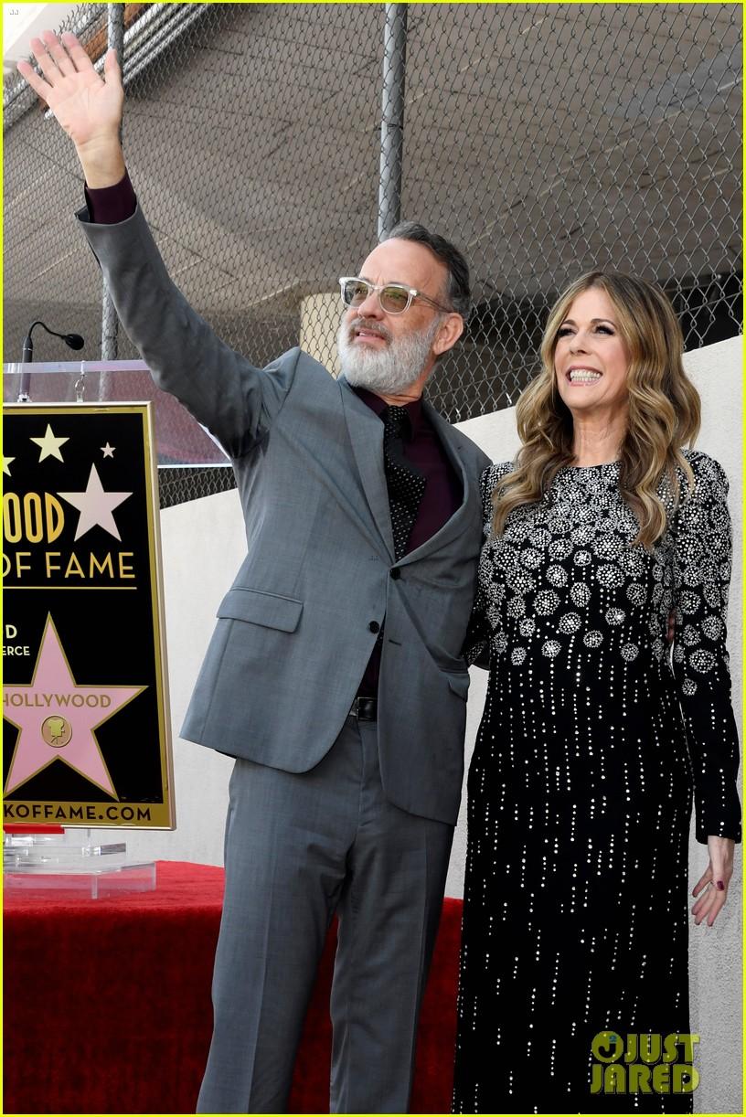 rita wilson hollywood walk of fame ceremony 14