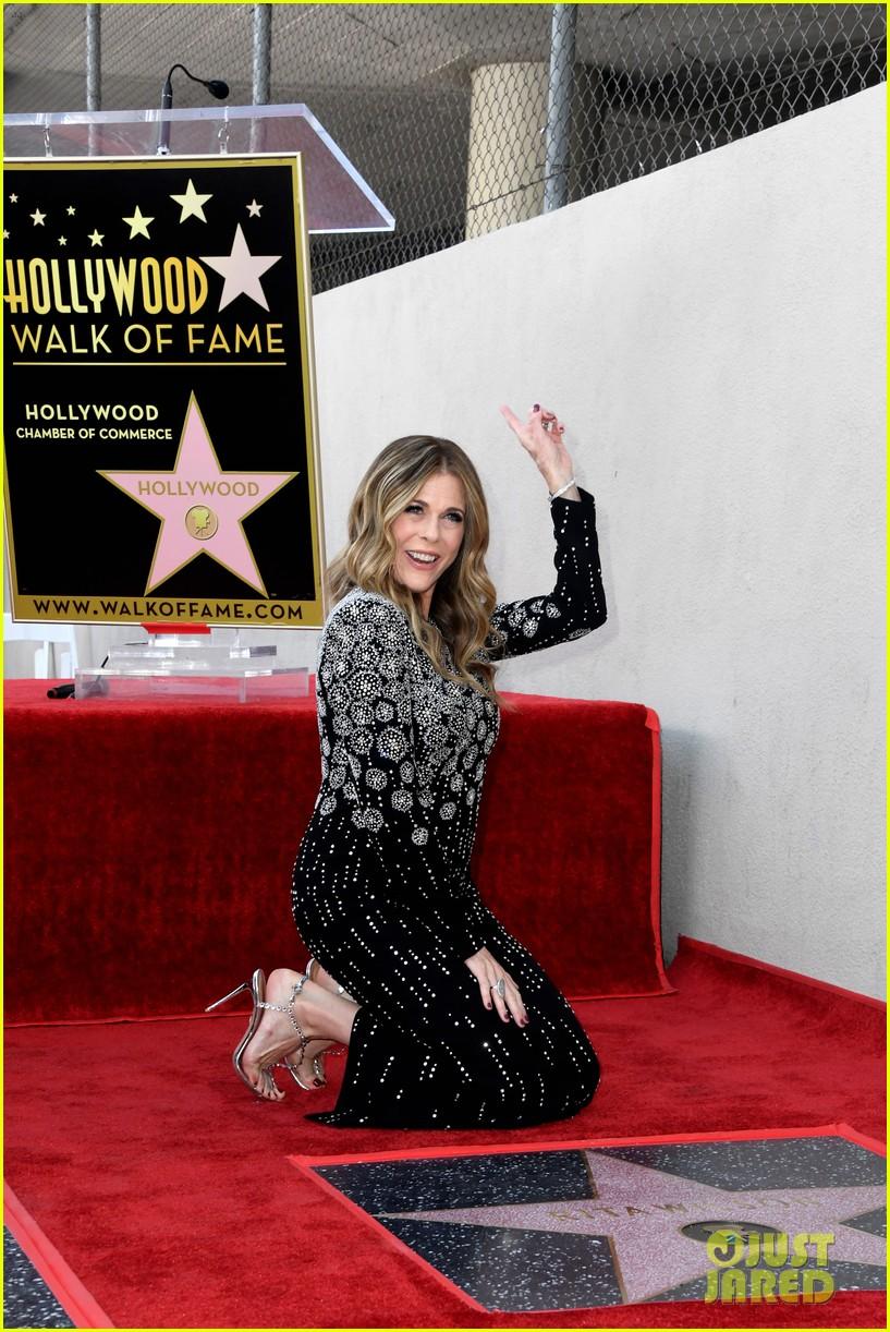 rita wilson hollywood walk of fame ceremony 18