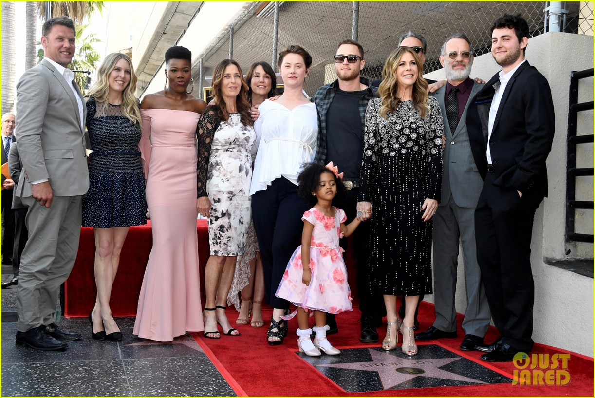 rita wilson hollywood walk of fame ceremony 20