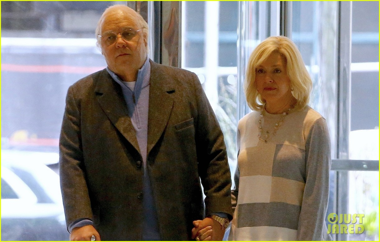 russell crowe sienna miller film the loudest voice nyc 06