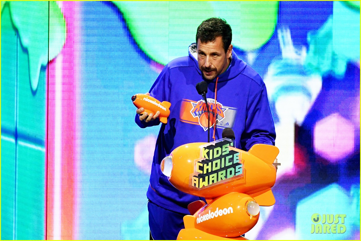 Adam Sandler Gets Slimed at Kids' Choice Awards 2019!: Photo