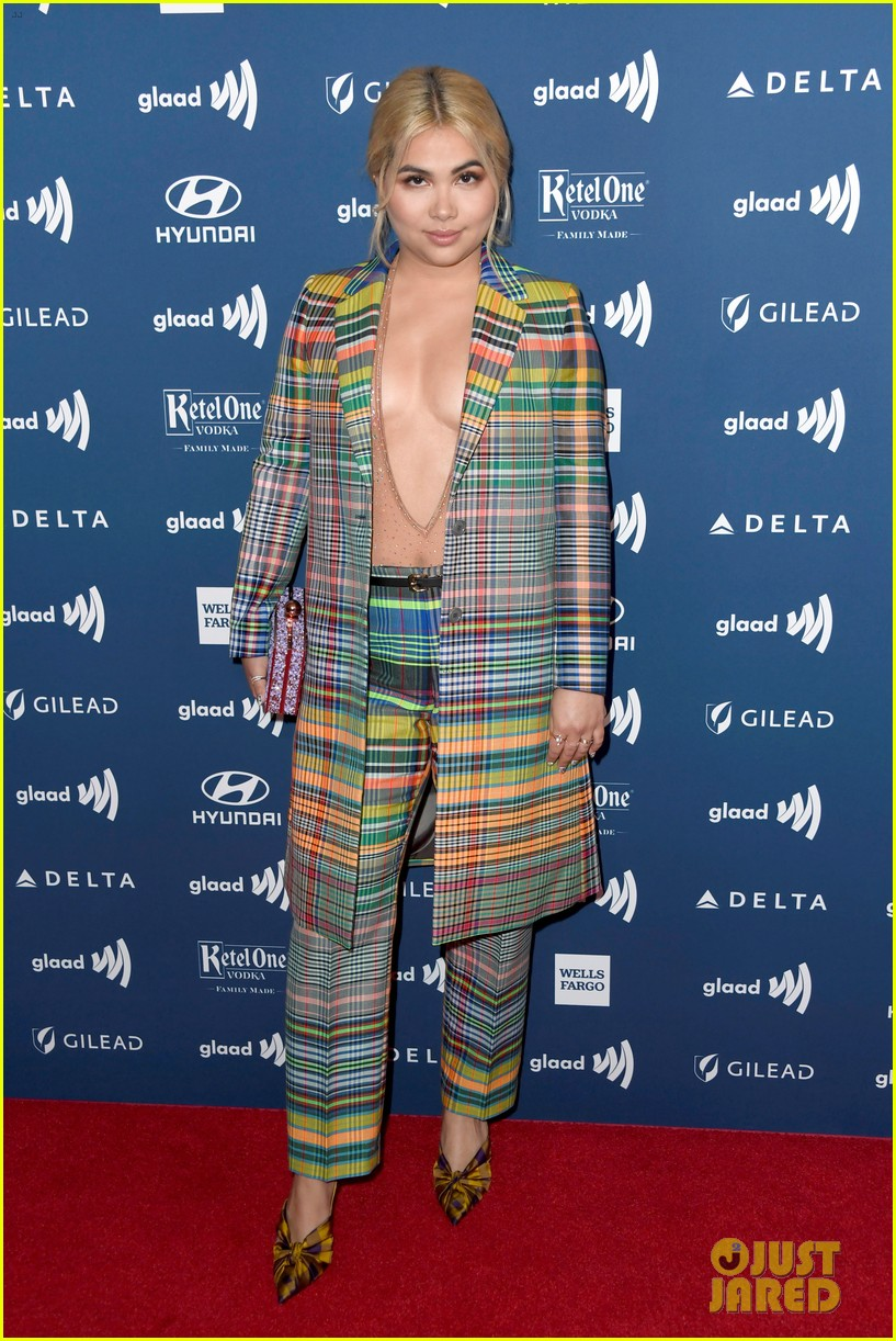 meghan trainor hayley kiyoko josie totah glaad media awards 18