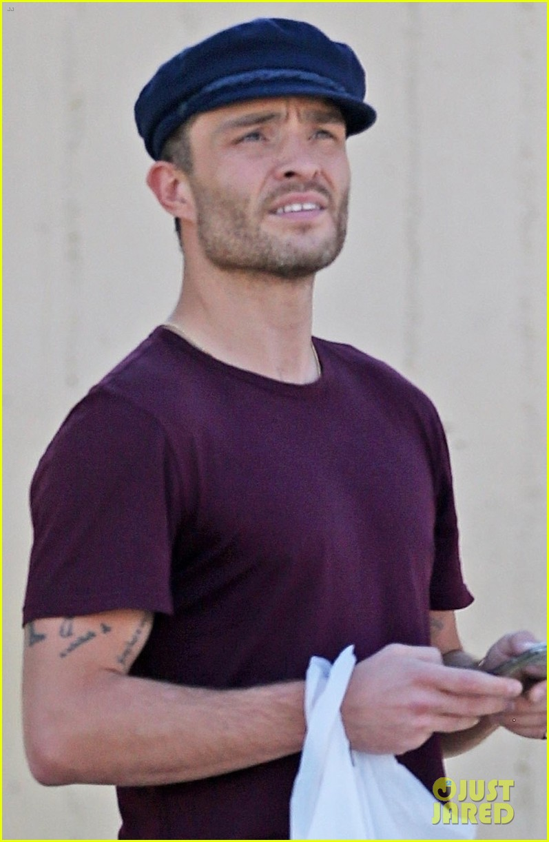 ed westwick is all smiles at lunch in la 04