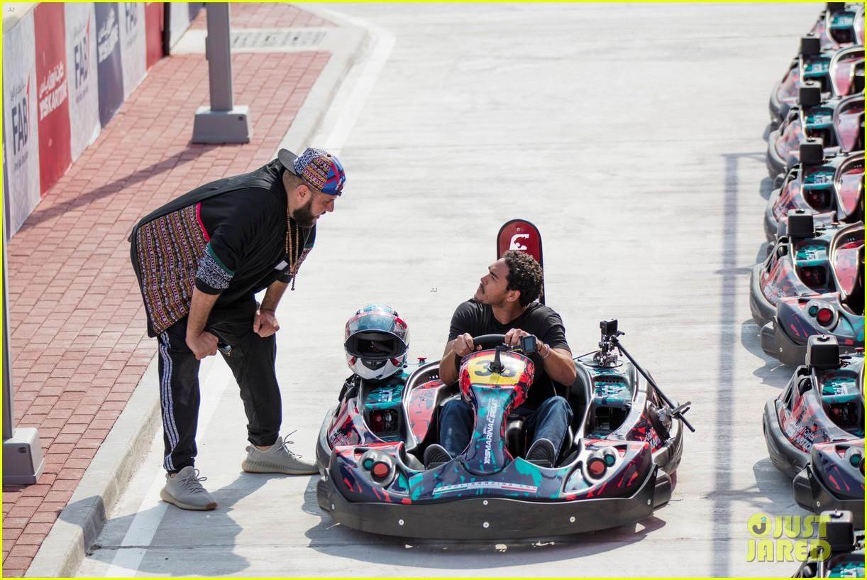 Will Smith Son Trey Fulfill Race Car Driving Dreams Watch