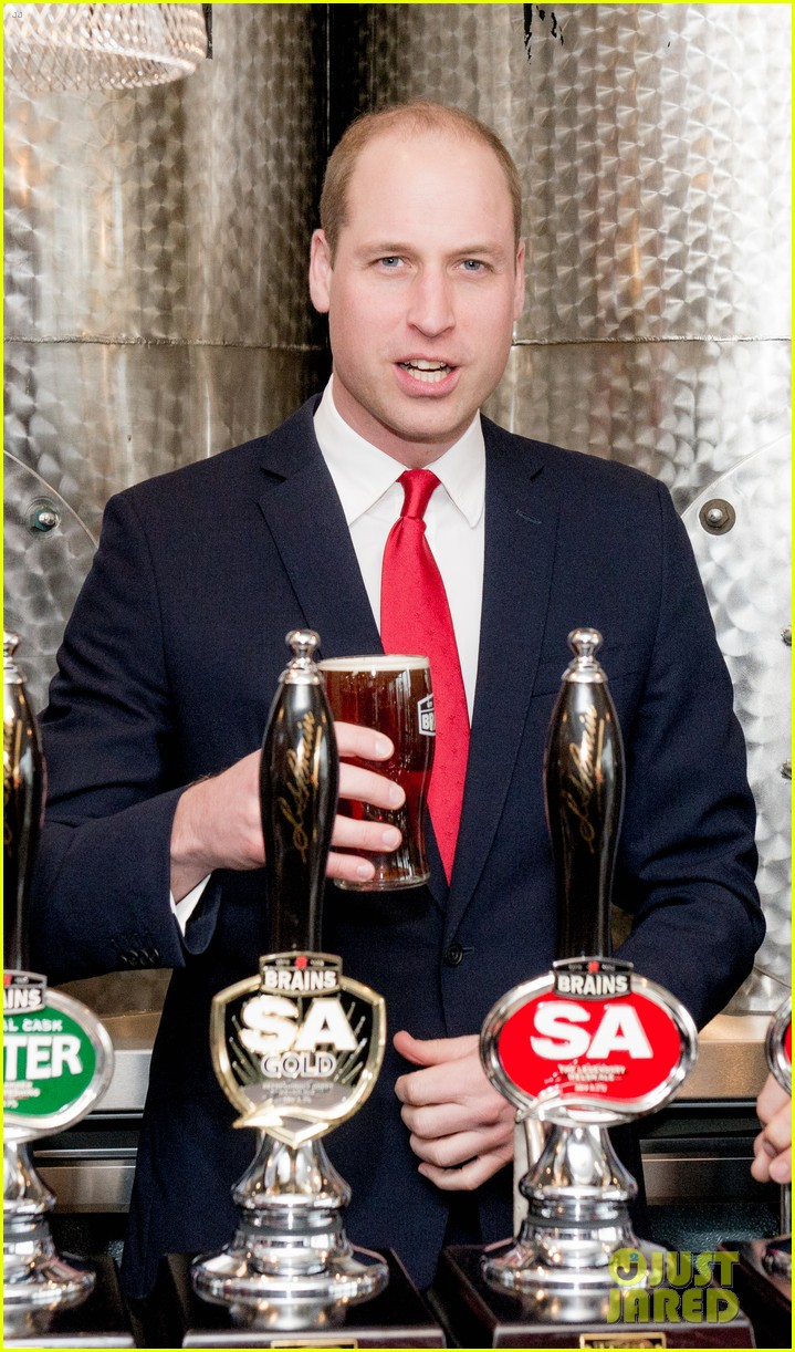 prince william takes tour of new brains dragon brewery in wales 05