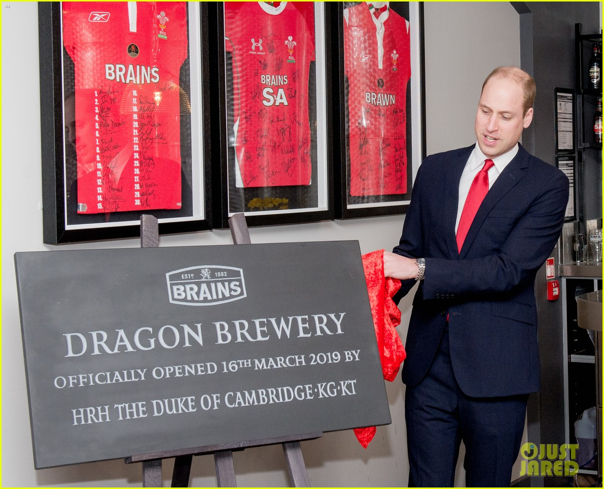 prince william takes tour of new brains dragon brewery in wales 07