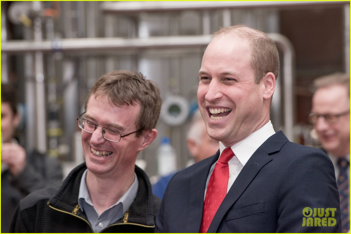 prince william takes tour of new brains dragon brewery in wales 13