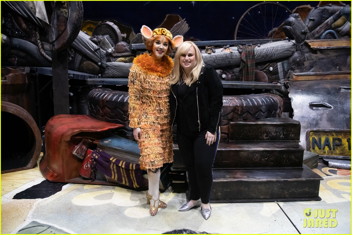 rebel wilson surprise visits cats cast in hollywood 014255152