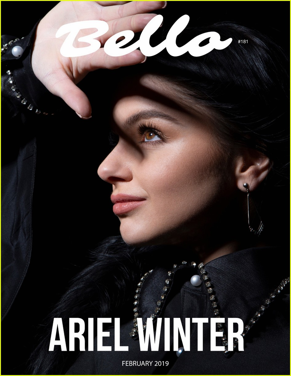 ariel winter pays homage to karl lagerfeld in new cover shoot 01.