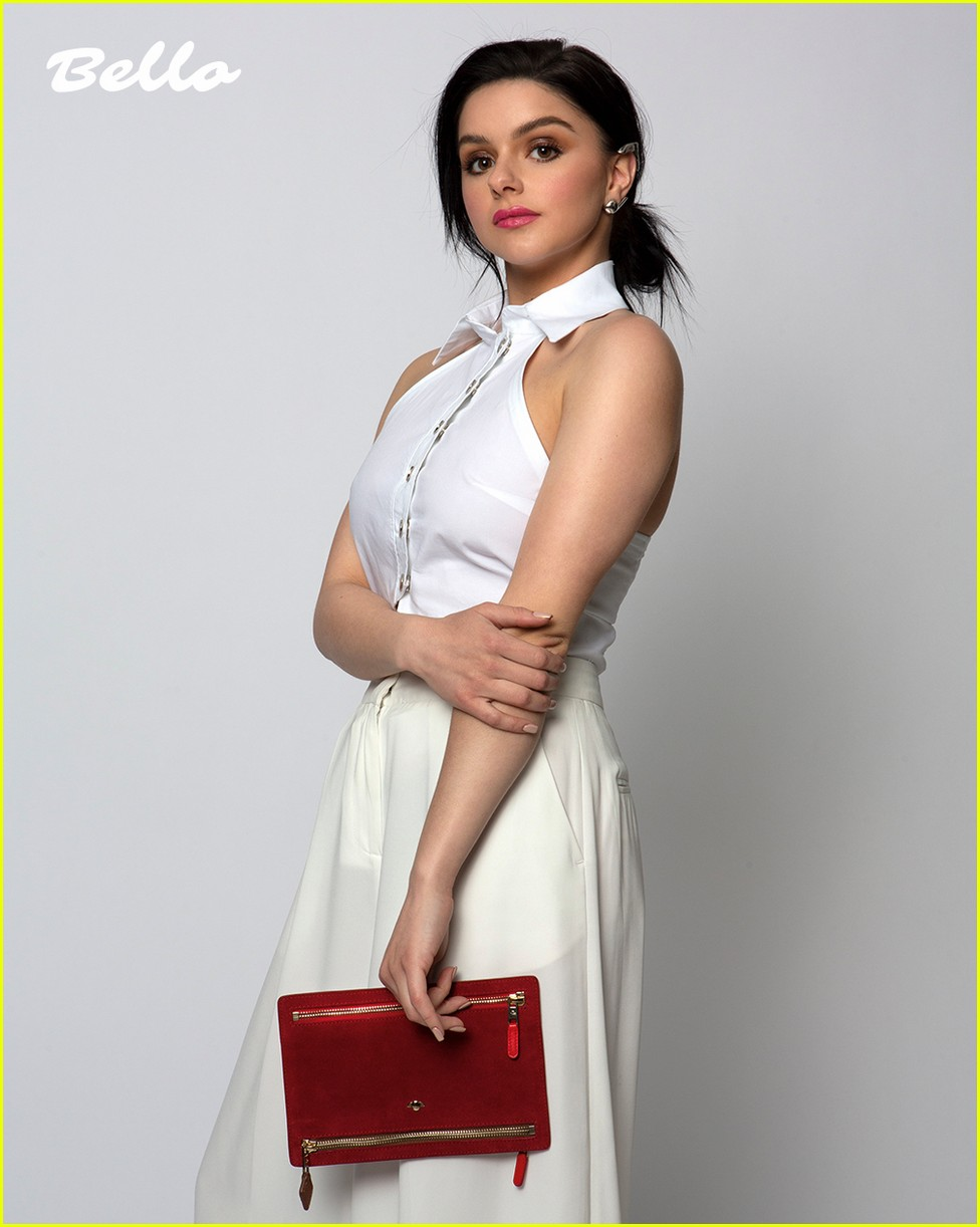 ariel winter pays homage to karl lagerfeld in new cover shoot 04