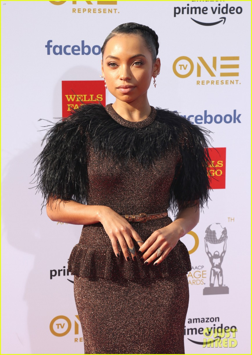 yara shahidi laura harrier logan browning naacp image awards 18