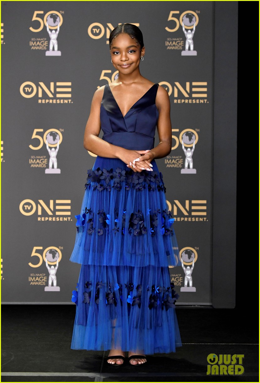 yara shahidi laura harrier logan browning naacp image awards 24