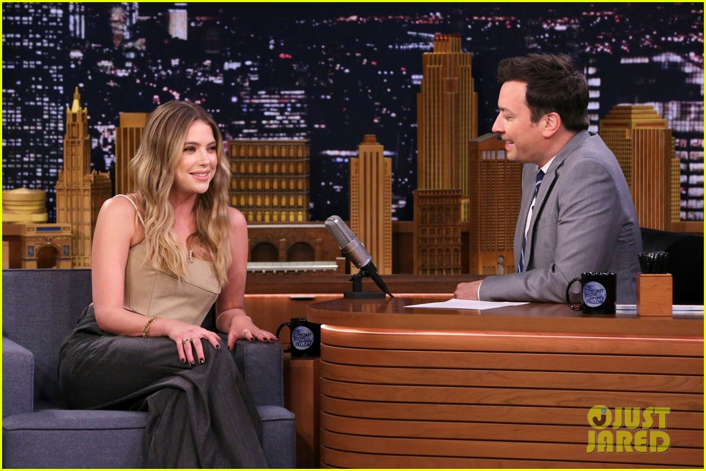 ashley benson tonight show appearance 01