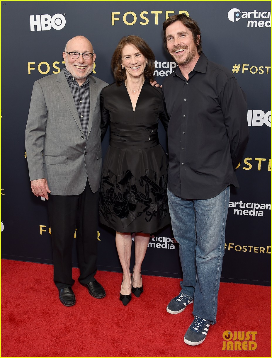 christian bale supports foster documentary premiere watch trailer 134276444