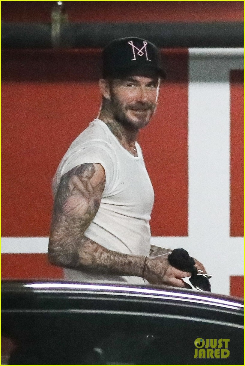 david beckham hits the gym with a friend in weho 03