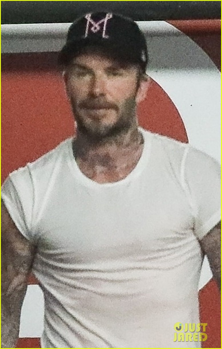 david beckham hits the gym with a friend in weho 05
