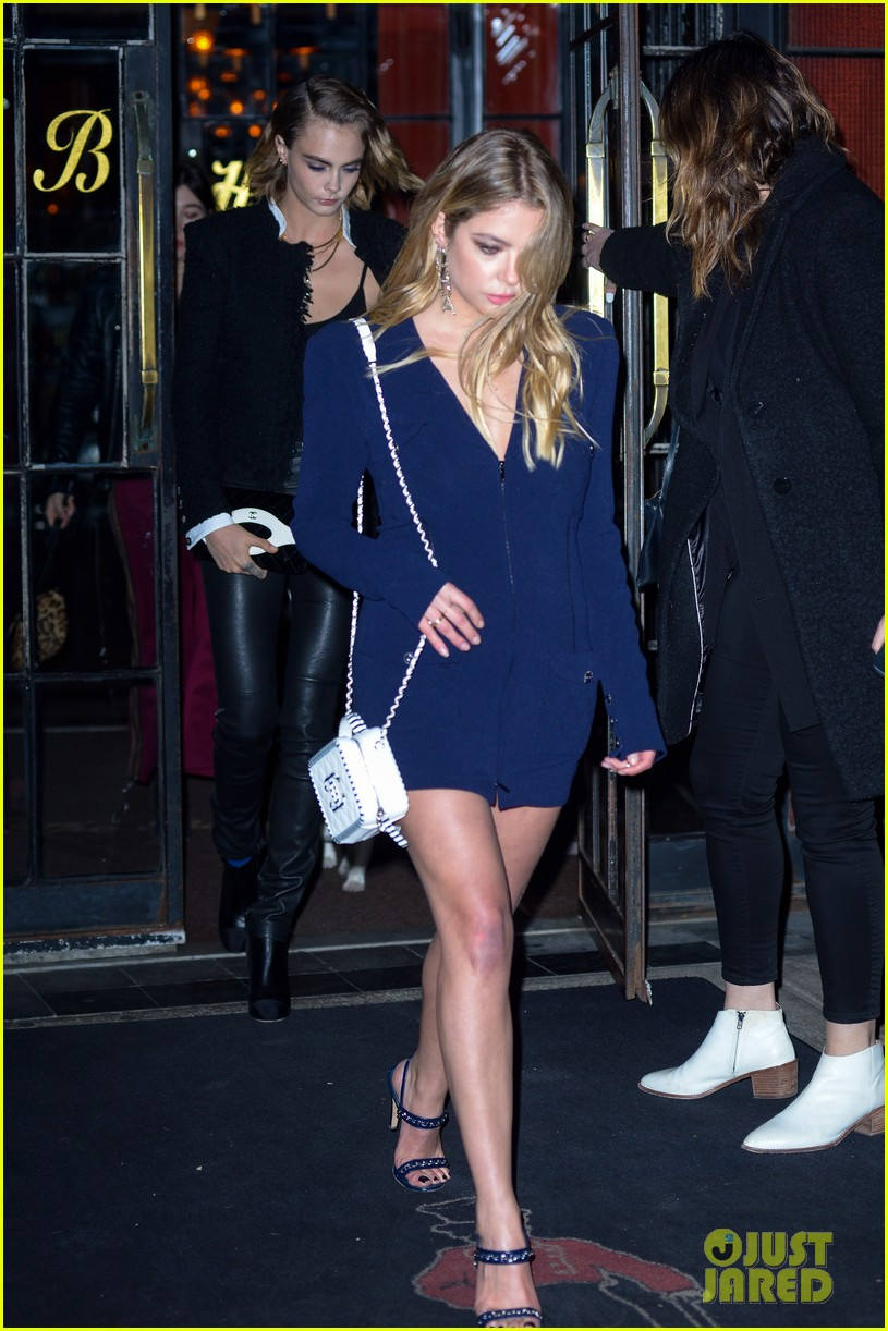 ashley benson and cara delevingne couple up for chanels tribeca film festival dinner 01