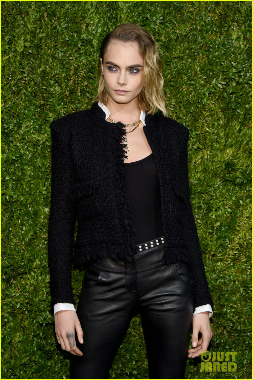 Ashley Benson Cara Delevingne Couple Up For Chanels