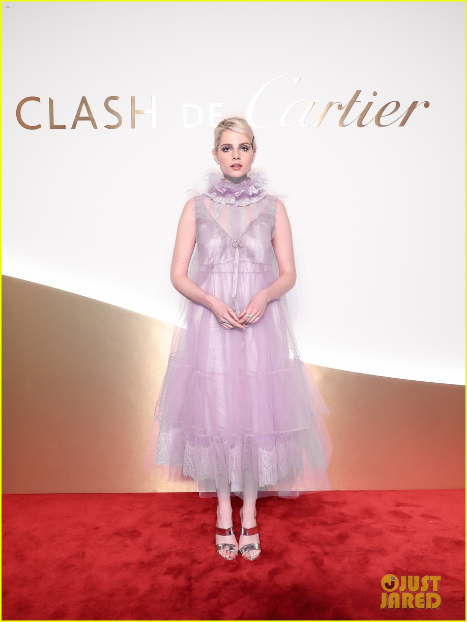 lucy boynton rami malek jake gyllenhaal go glam for clash de cartier celebration 01