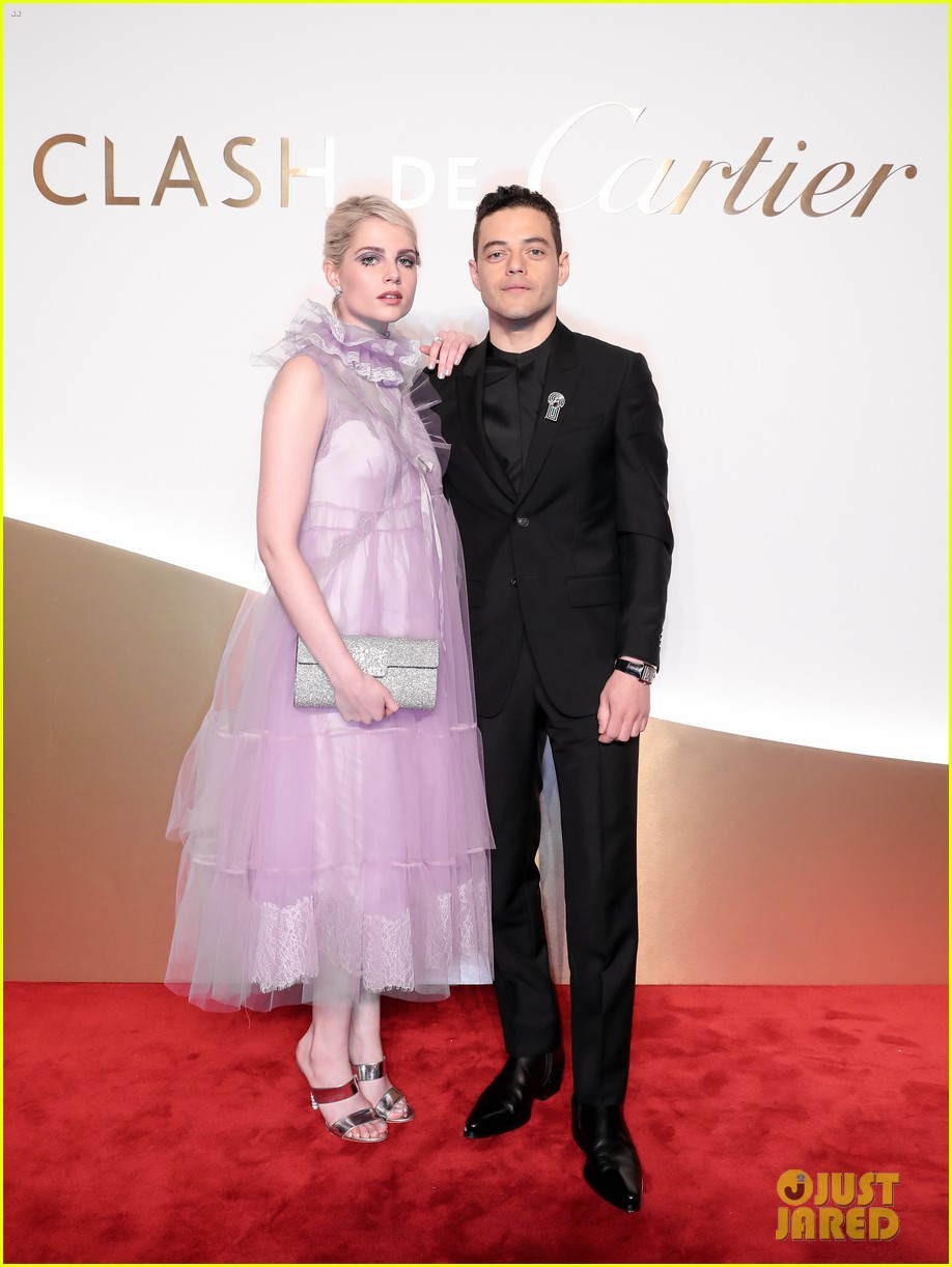 lucy boynton rami malek jake gyllenhaal go glam for clash de cartier celebration 454271036