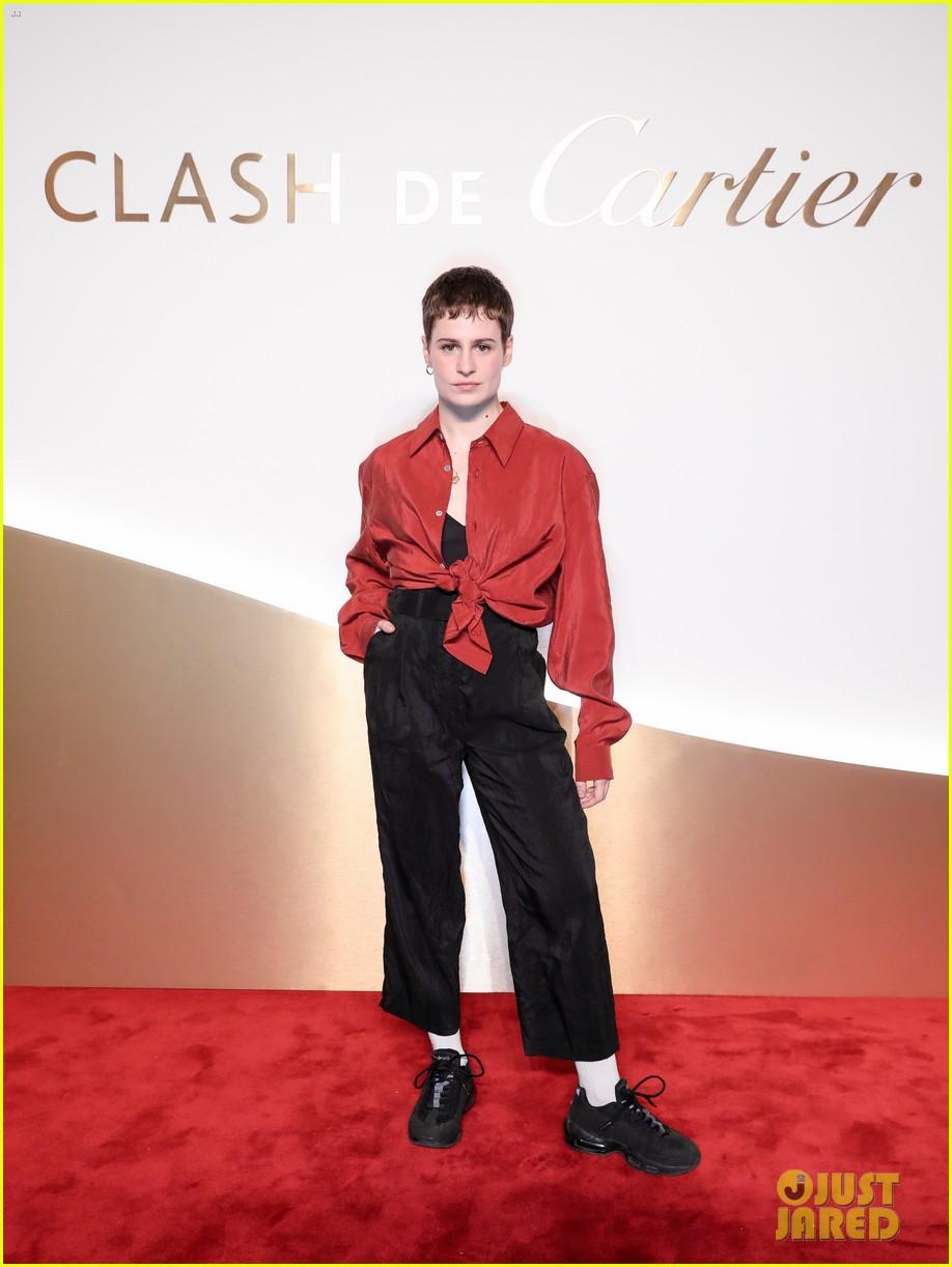 lucy boynton rami malek jake gyllenhaal go glam for clash de cartier celebration 484271039