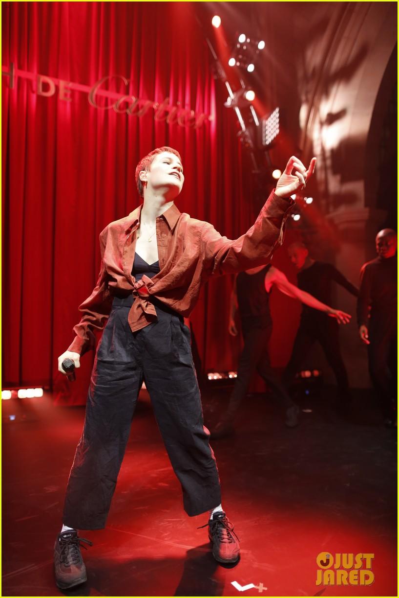 lucy boynton rami malek jake gyllenhaal go glam for clash de cartier celebration 564271047