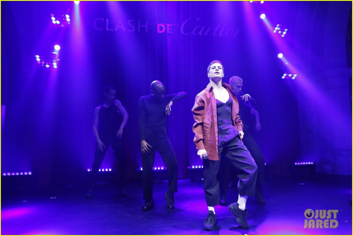 lucy boynton rami malek jake gyllenhaal go glam for clash de cartier celebration 574271048
