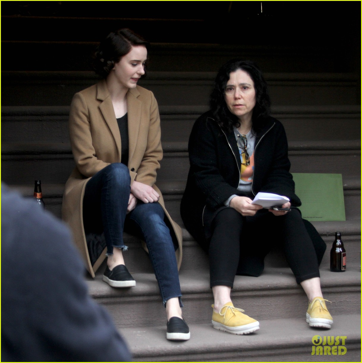 sterling k brown marvelous mrs maisel with rachel brosnahan 04