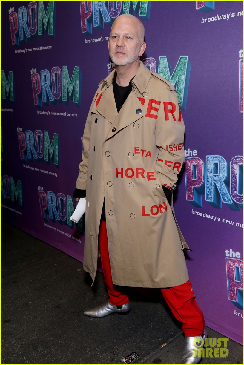glenn close dianna agron celebrate the prom ryan murphy benefit performance 24