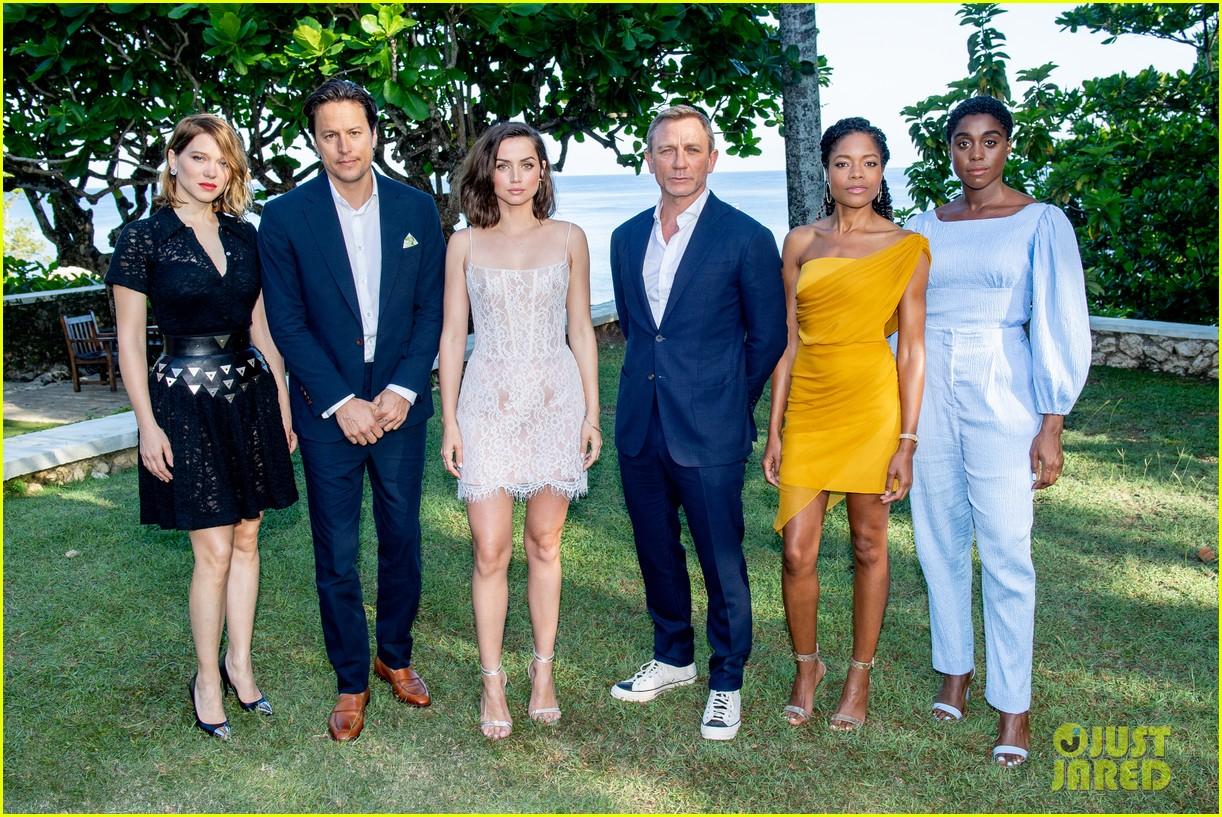 daniel craig bond 25 team celebrate film launch in jamaica 024277538