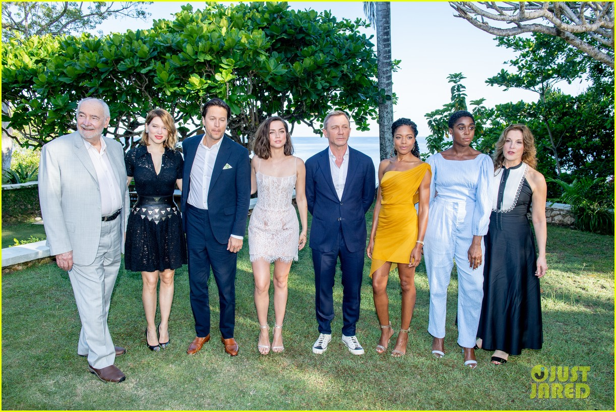 daniel craig bond 25 team celebrate film launch in jamaica 094277545