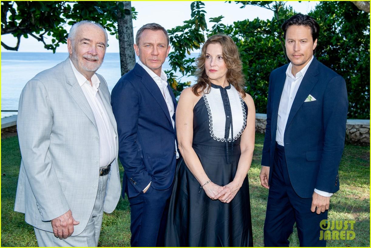 daniel craig bond 25 team celebrate film launch in jamaica 114277547