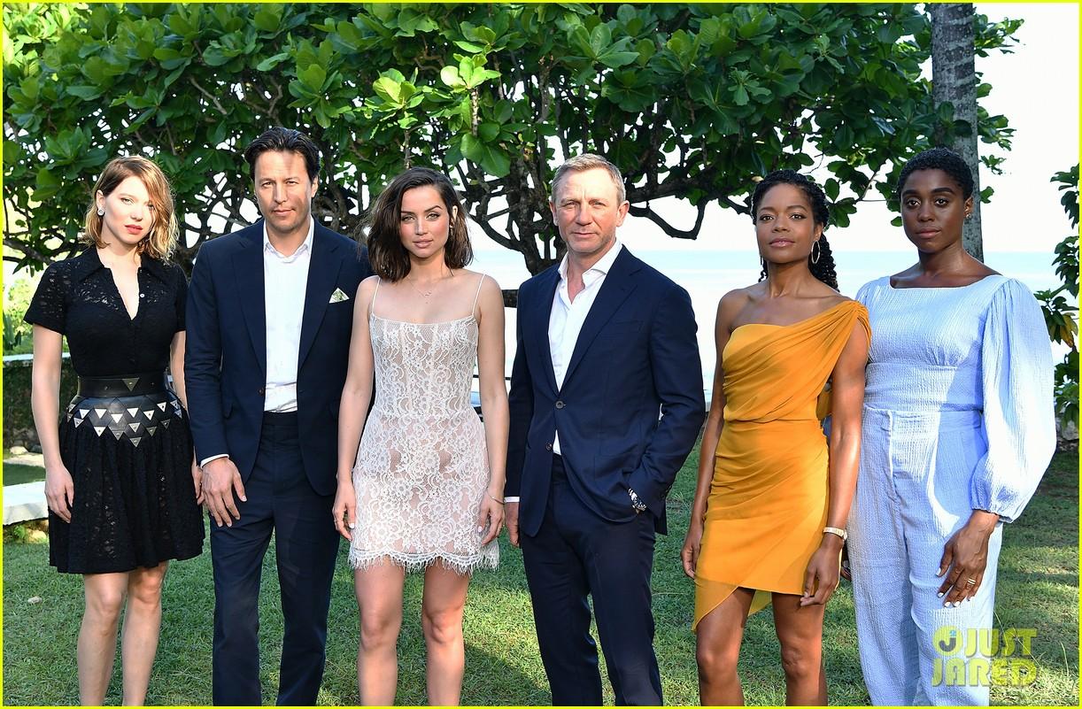daniel craig bond 25 team celebrate film launch in jamaica 154277551