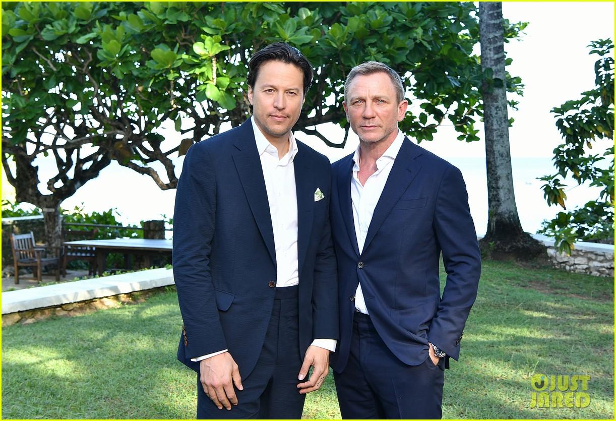 daniel craig bond 25 team celebrate film launch in jamaica 214277557