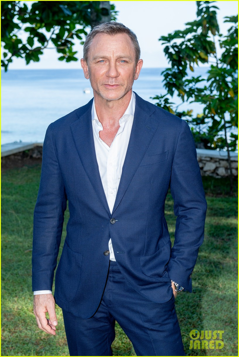 Daniel Craig Bond 25 Team Celebrate Film Launch In