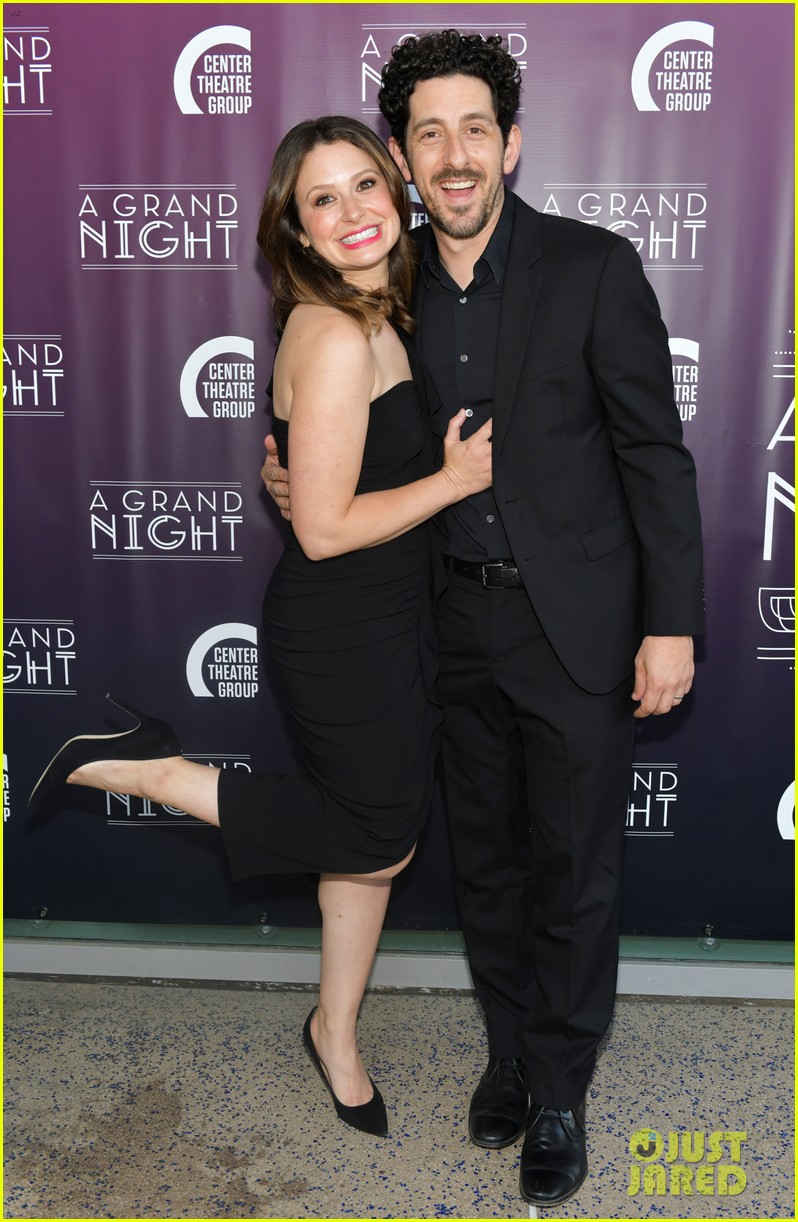 lea michele darren criss perform together at center theatre groups a grand night 024276516