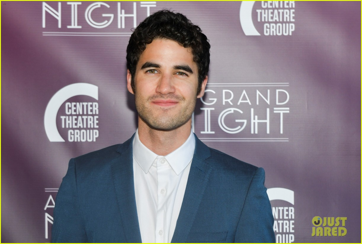 lea michele darren criss perform together at center theatre groups a grand night 234276537