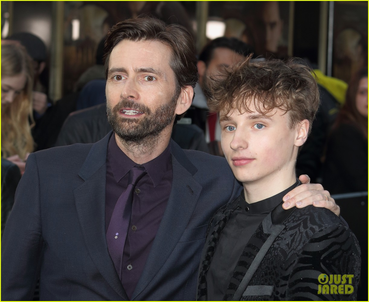 david tennant supports son ty at tolkein premiere 11