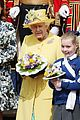 queen elizabeth joined by princess eugenie for easter coin ceremony 09
