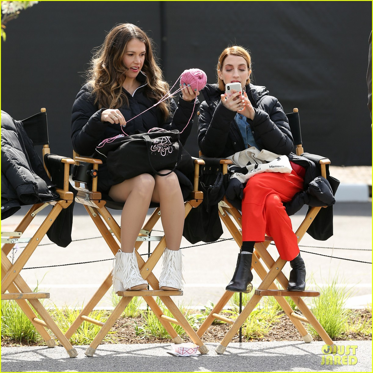sutton foster scooter younger set peter hermann 054279215